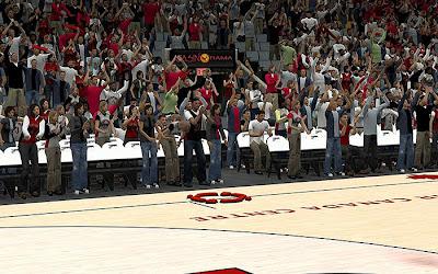 NBA 2K13 Toronto Raptors Stadium Crowds Fix
