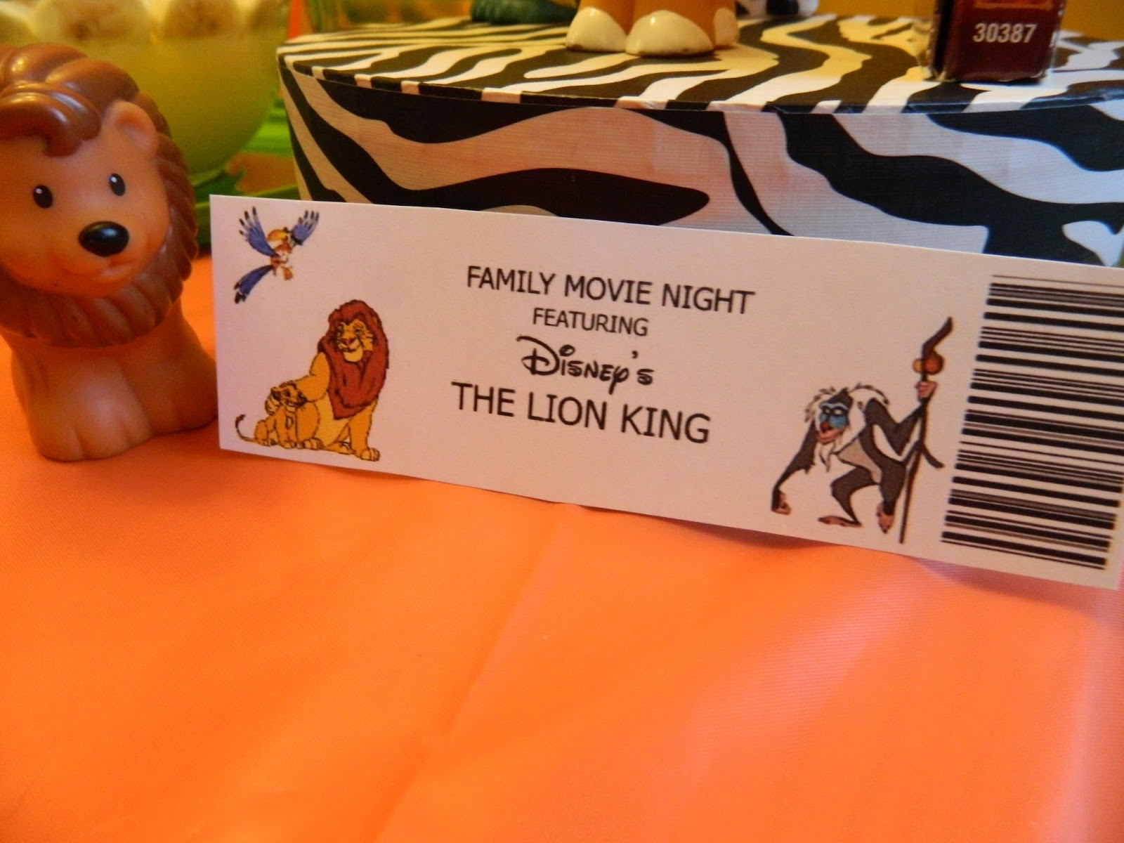 up where they walk  family movie night featuring  lion king