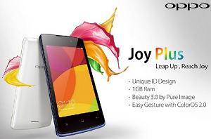 harga dan spesifikasi Oppo Joy Plus terbaru