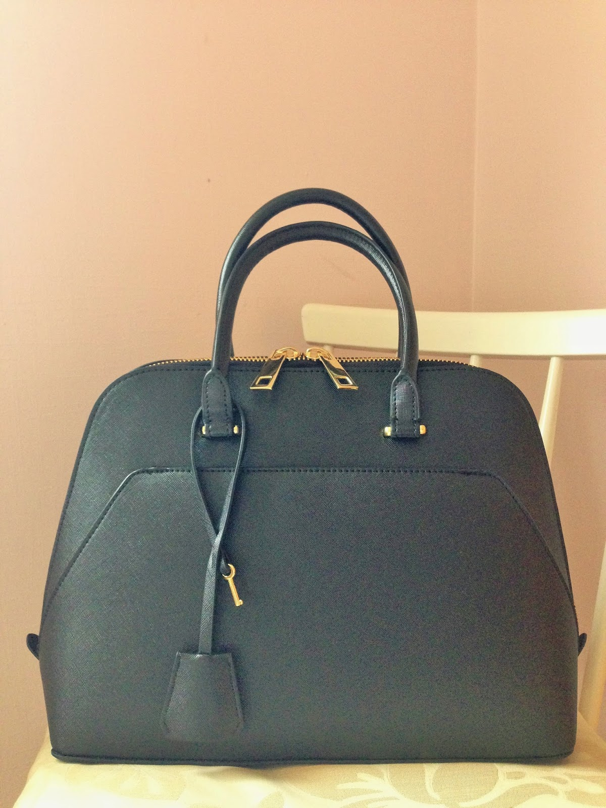 Black Zara Handbag