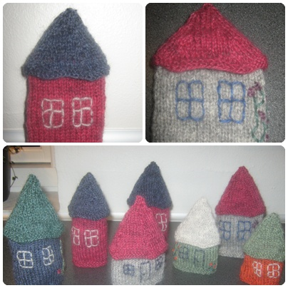 strikkede huse