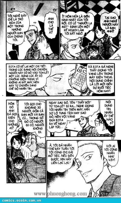 Detective Conan - Thám Tử Lừng Danh Conan chap 511 page 11 - IZTruyenTranh.com