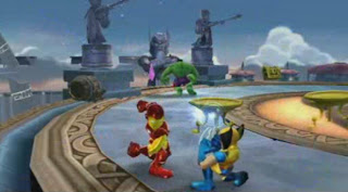 Free Download Marvel Super Hero Squad PSP Game Photo