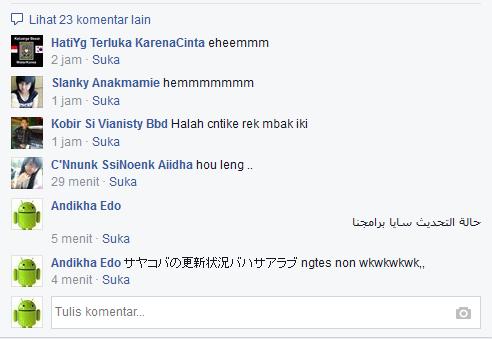 status fb bahasa jepang