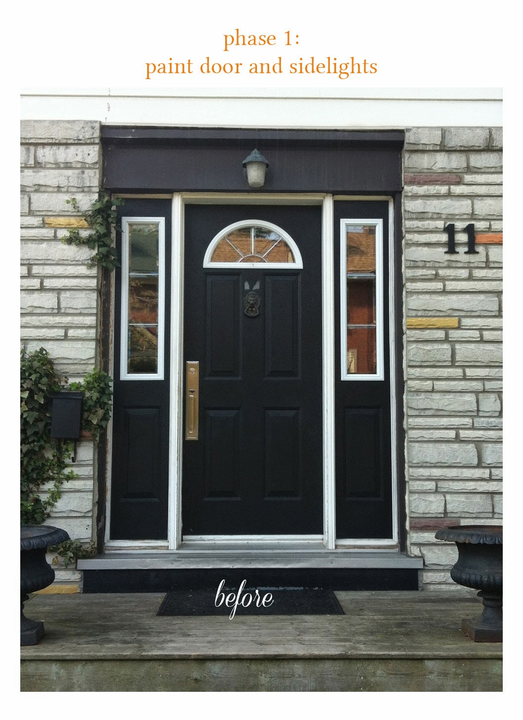 Paper Parade Co An Easy And Inexpensive Front Door Makeover