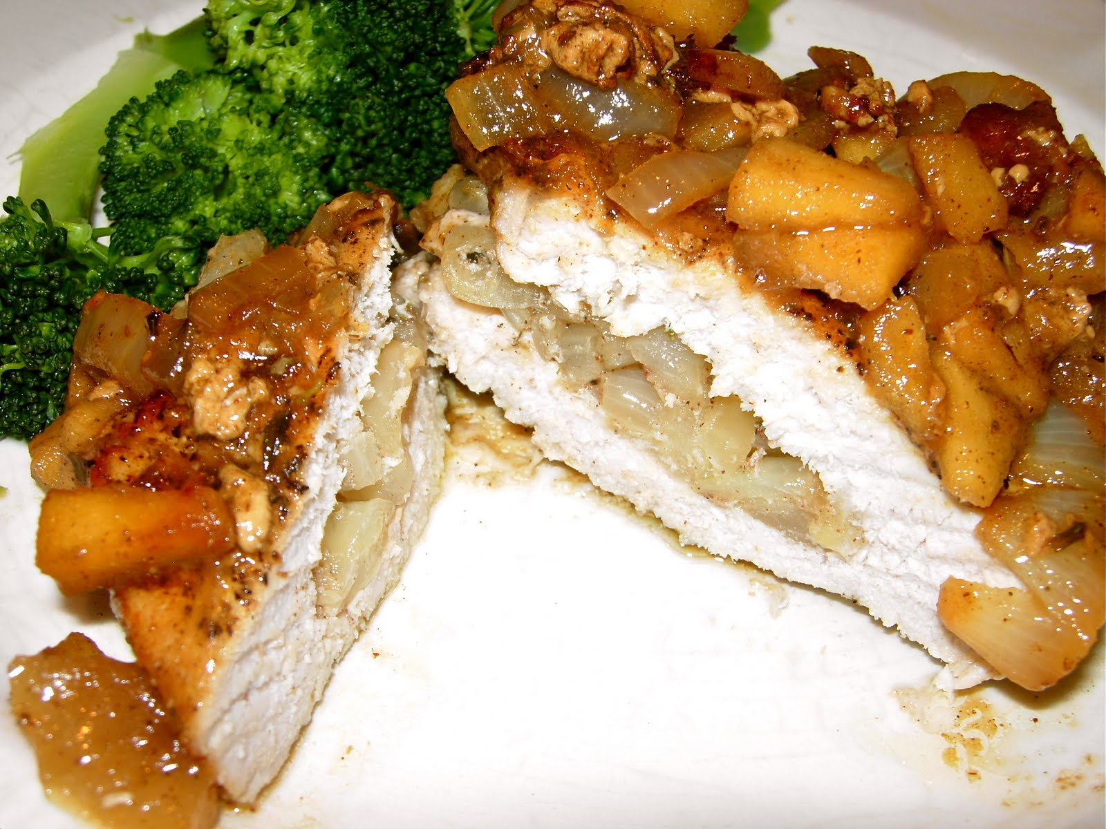 CFSCC presents: EAT THIS!: Apple and Onion-Stuffed Pork Chops