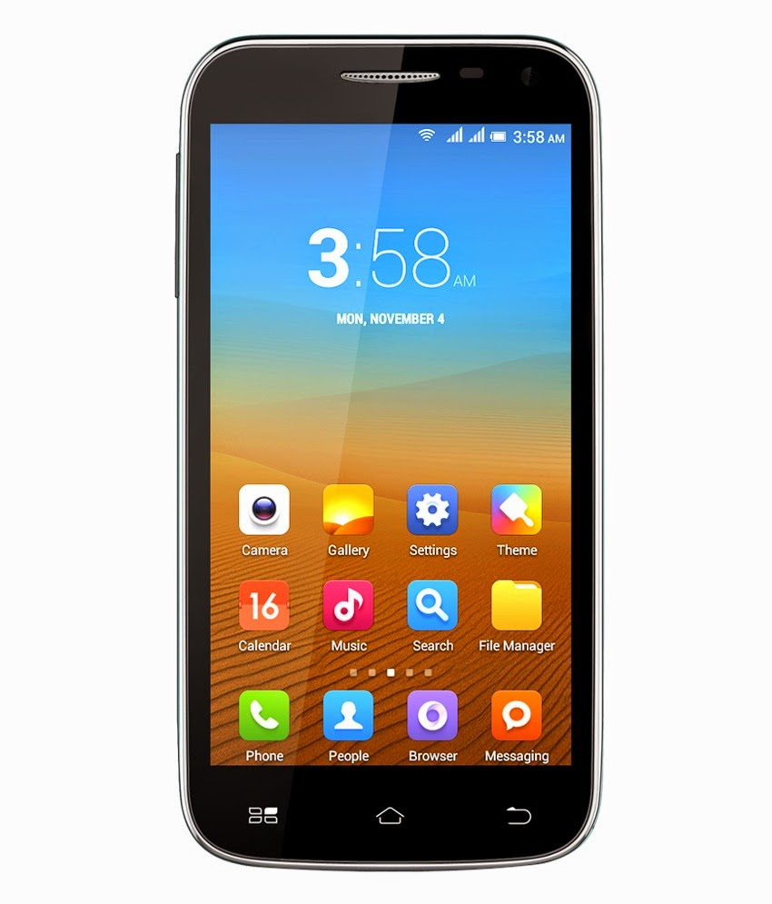 Snapdeal: Buy BQ S60 at Rs.5555.