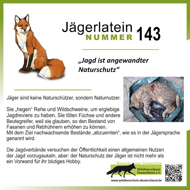 "Jägerlatein Nr. 143: ""Jagd ist angewandter Naturschutz"""