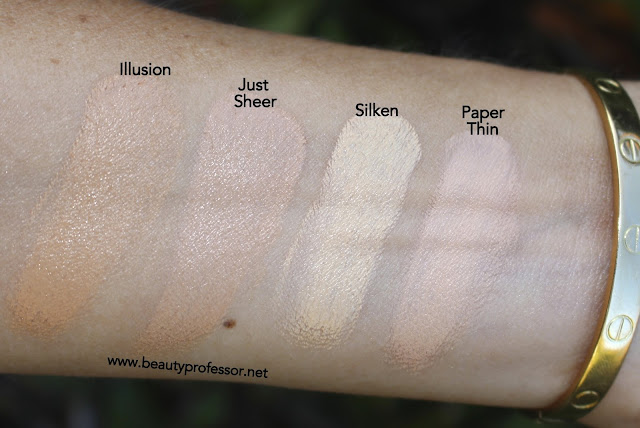 kjaer weis foundation swatches