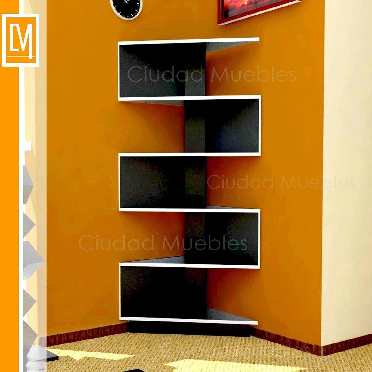 Maderas y decoraciones repisas flotantes y de pisos for Muebles para libros modernos