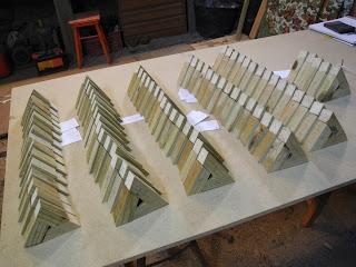 Montaje de todos los triángulos