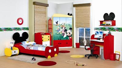 dormitorio infantil mickey