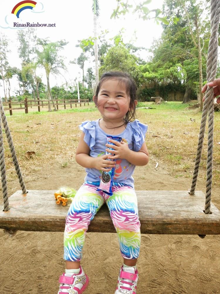 swing with oreos