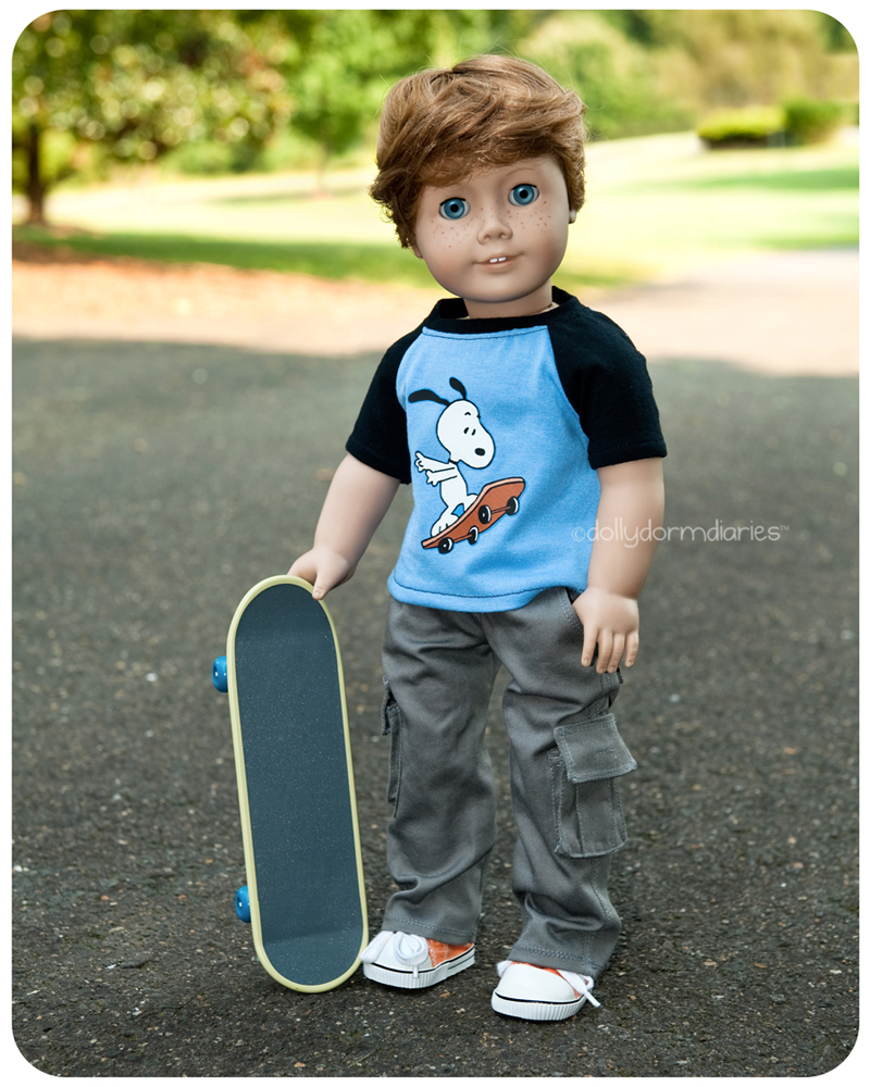 American Girl boy doll, Trey. Read 18 inch doll diaries at our American Girl Doll House. Visit our 18 inch dolls dollhouse!