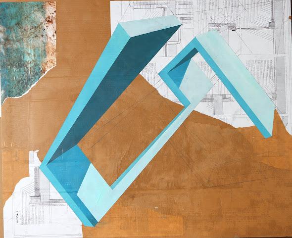 Estructura IV 86 x 110 cm 2011