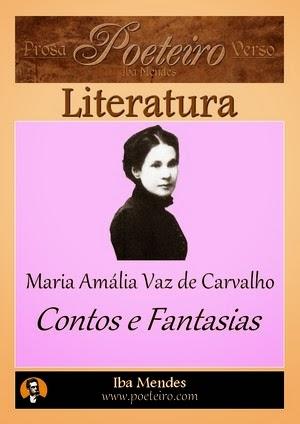 Contos e Fantasias, de Maria Amália Vaz de Carvalho