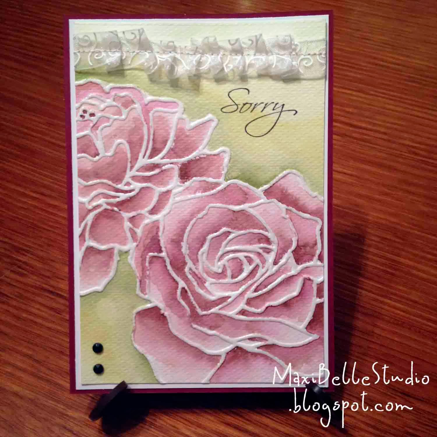 Stampin Up Manhattan Rose
