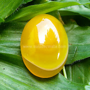 Batu Permata Yellow Calchedony - SP704