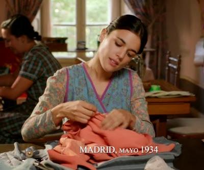 Sira Quiroga taller de costura Madrid. El tiempo entre costuras. Capítulo 1