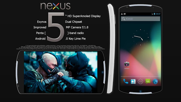 Google NEXUS 5 Release Date 2013, Specs and Phone Price