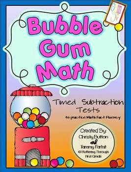 http://www.teacherspayteachers.com/Product/Addition-Math-Facts-Timed-Tests-Bubble-Gum-Math-402344