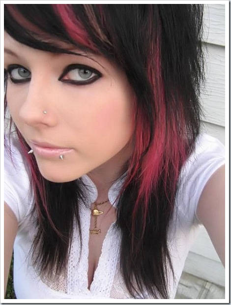 hairstyles for girls with medium hair. Emo Hair For Girls With Medium