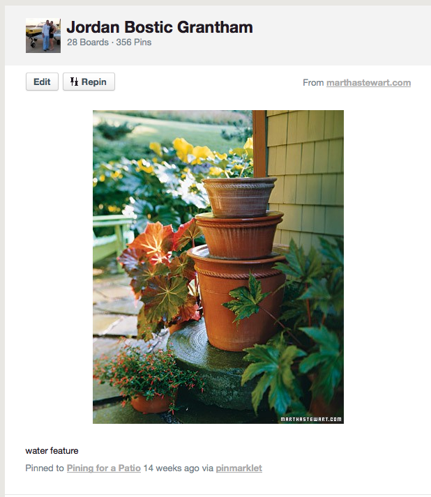 The Happy Homebodies Diy Flower Pot Fountain