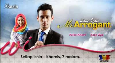 Love You Mr Arrogant Slot Akasia TV3 Full Episod