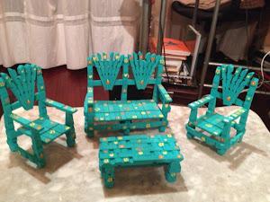 Conjunto de muebles de jardín color a elegir