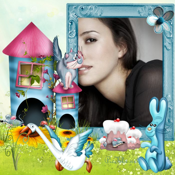 funny photo frames online effects | Star Light\'s Fashion World
