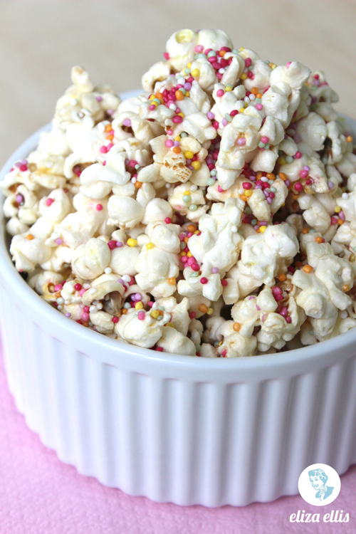 Sprinkles Popcorn - Last Minute Sprinkles Party Part Two