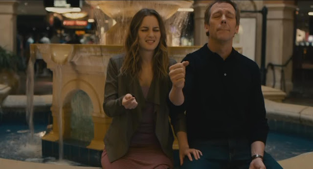 Hugh Laurie and Leighton Meester in The Oranges