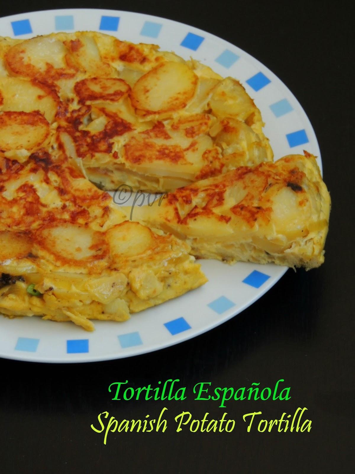... Tortilla Española & Sofrito - Spanish Potato Tortilla & Spanish