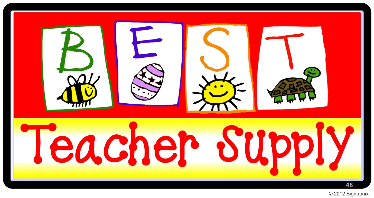 Best Teacher Supply Logo