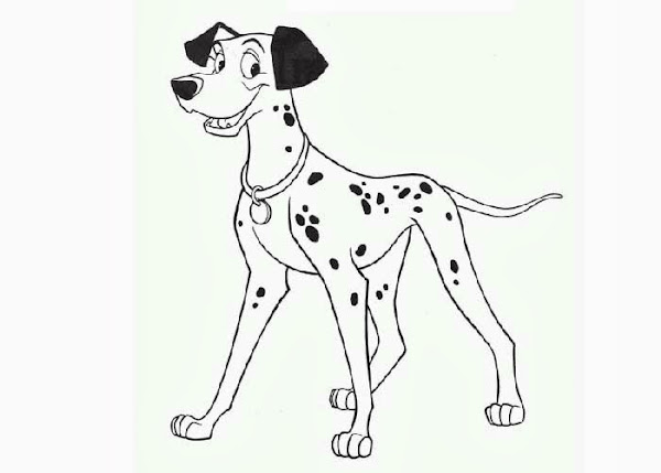 Pongo and Perdita Coloring Pages
