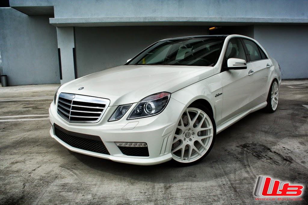 Mercedes benz w212 e63 amg on hre performance p40 wheels for Wheels for mercedes benz