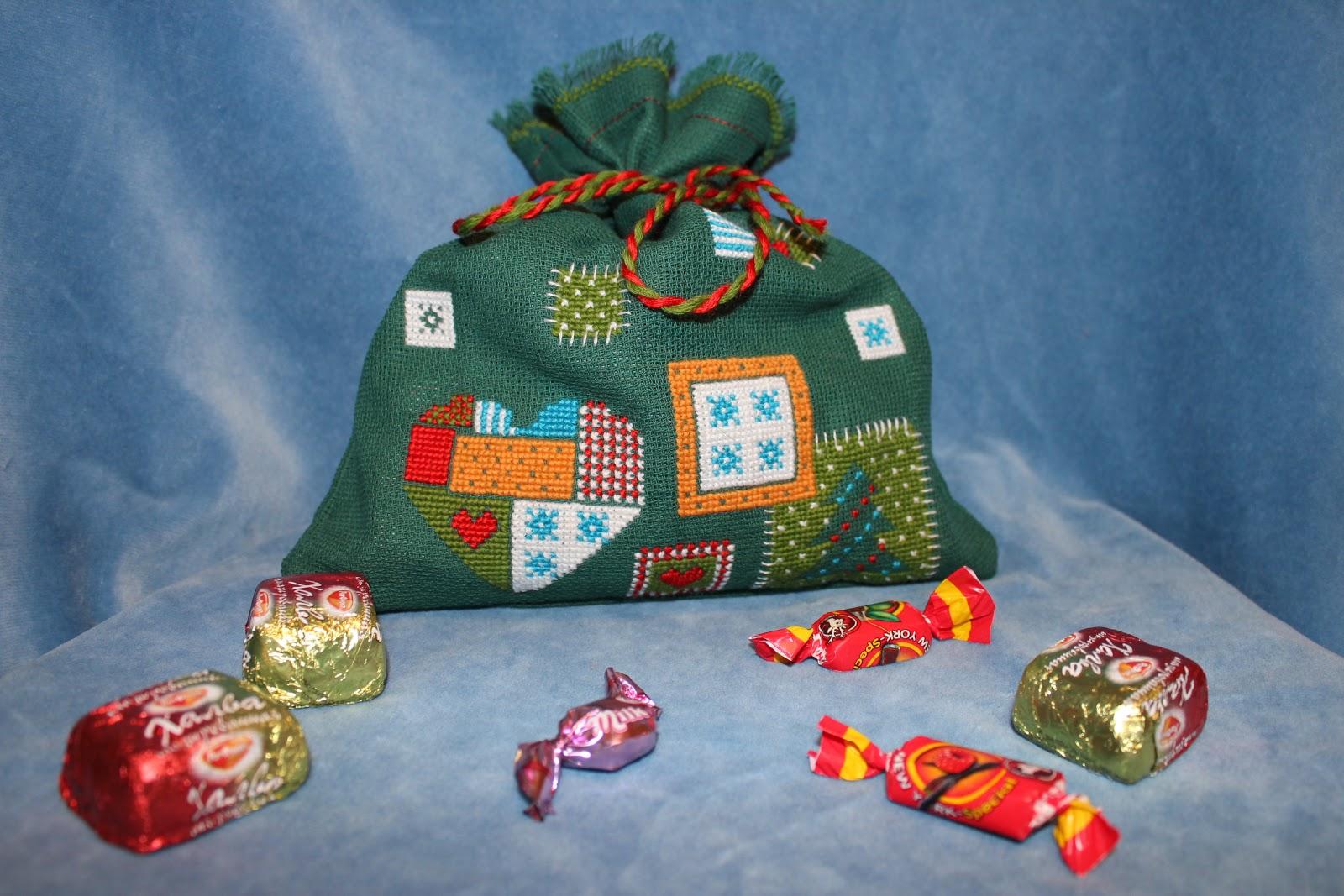 Что может лежать в мешке с подарками