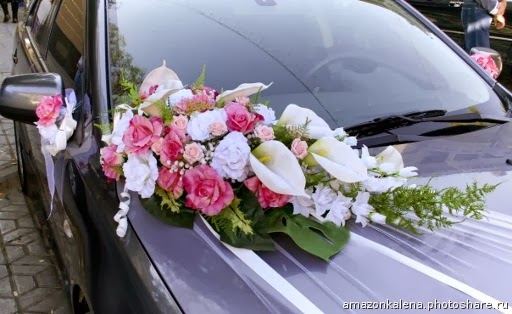 Link Camp Wedding Car Flower Decoration Collections 2013 4