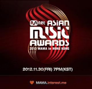 Daftar Nominasi MNET 2012 Asian Music Awards (MAMA 2012)