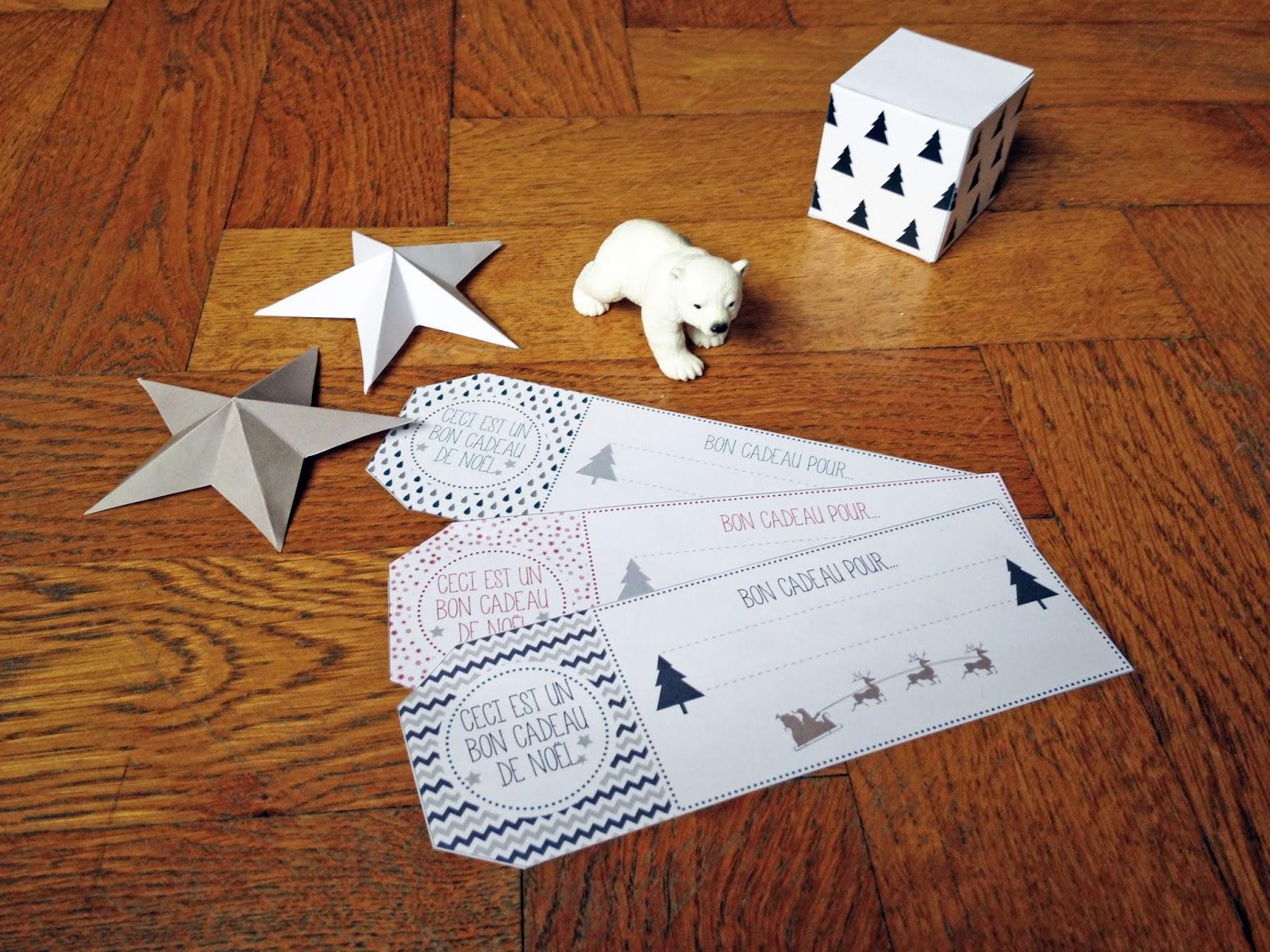 DIY Les bons cadeaux à imprimer