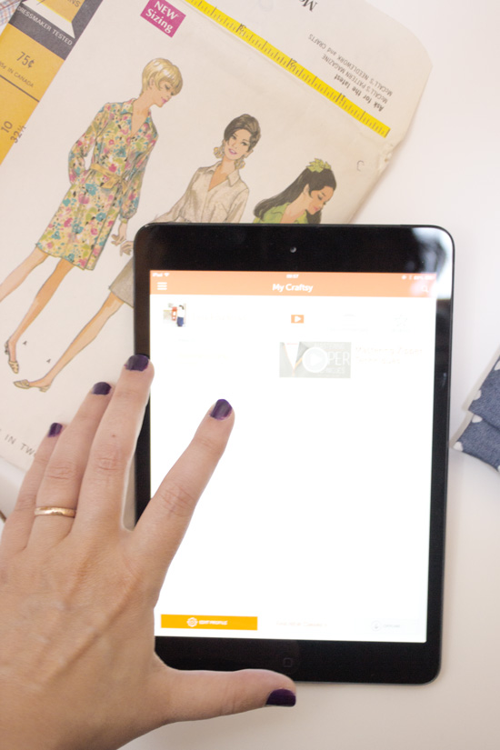 Craftsy sewing app review