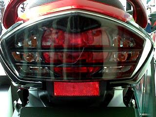 Modifikasi Lampu Depan Yamaha Bison