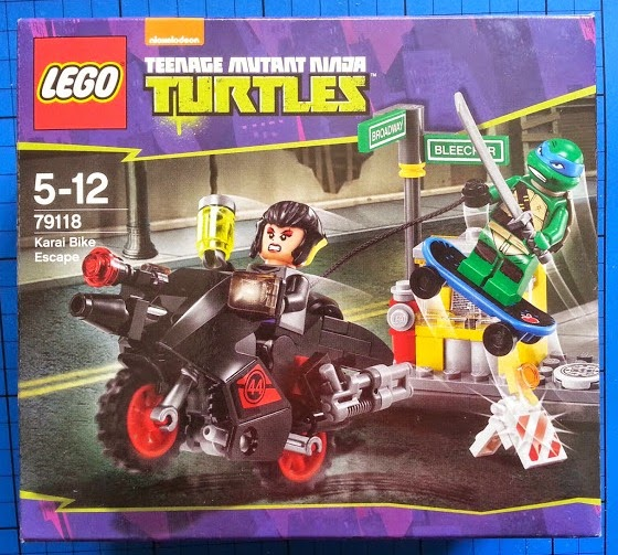 TMNT LEGO set 79118 Karai Bike Escape Teenage Mutant Ninja Turtles