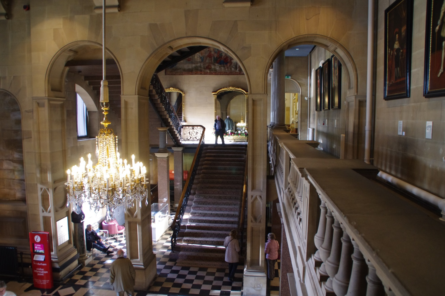 Museum Entry Foyer : Loveisspeed the bowes museum has a nationally