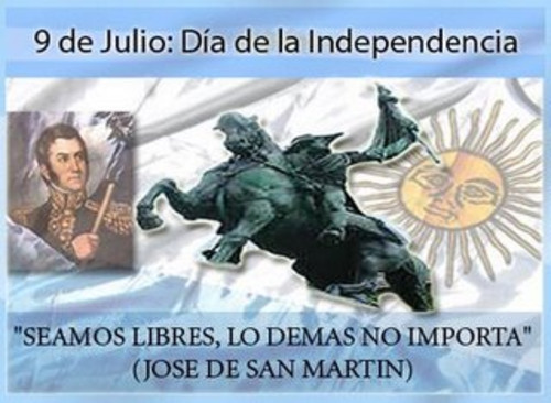 9 De Julio Independencia Argentina