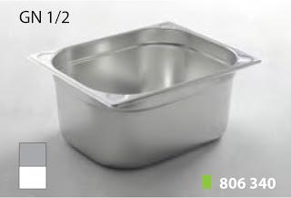 Recipente Gastronomice. Accesorii pentru Dotari HoReCa, Tavi GN 1/2 Inox, Cuve GN1/2 Inox, Vaschete Gastronorm GN 1/2 Inox, Recipiente Inox pentru Bucatarii Profesionale, Pret