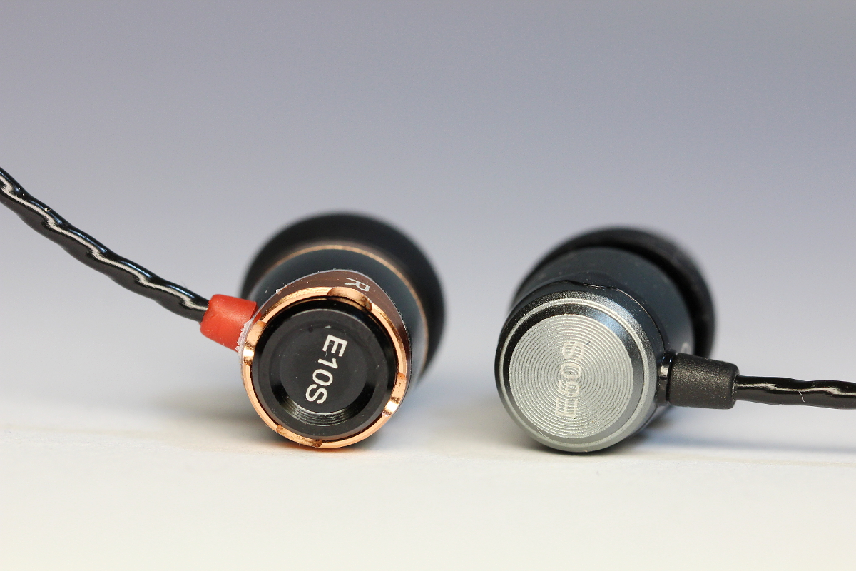 Soundmagic E10S versus E50S