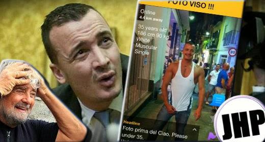 Rocco Casalino nudo