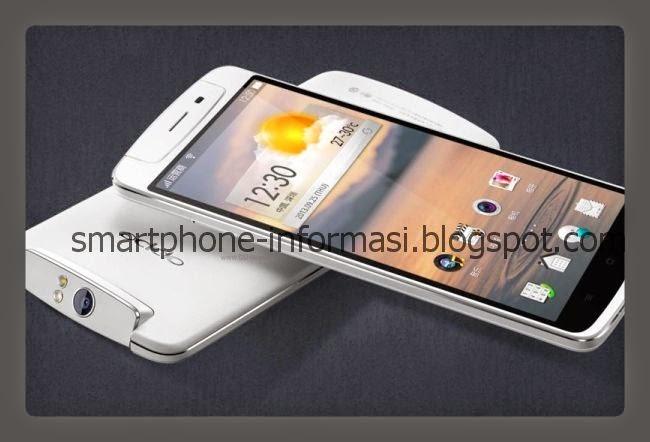 Smartphone Oppo Casing Putih