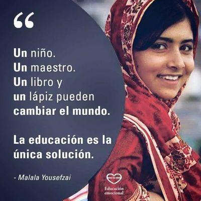 La educación es la única solución